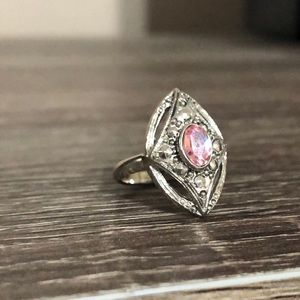 Jewelry - Silver and Pink ring